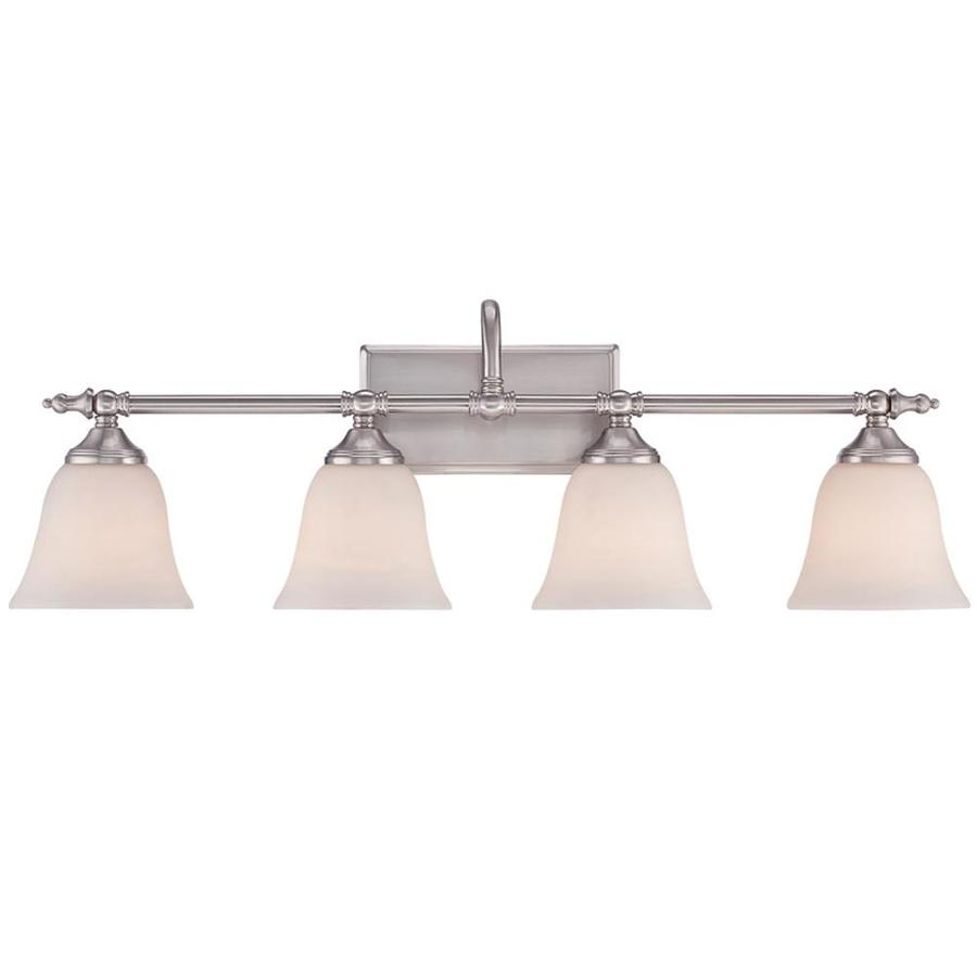 Tenhi 4-Light 6.5-in Brushed Nickel Vanity Light