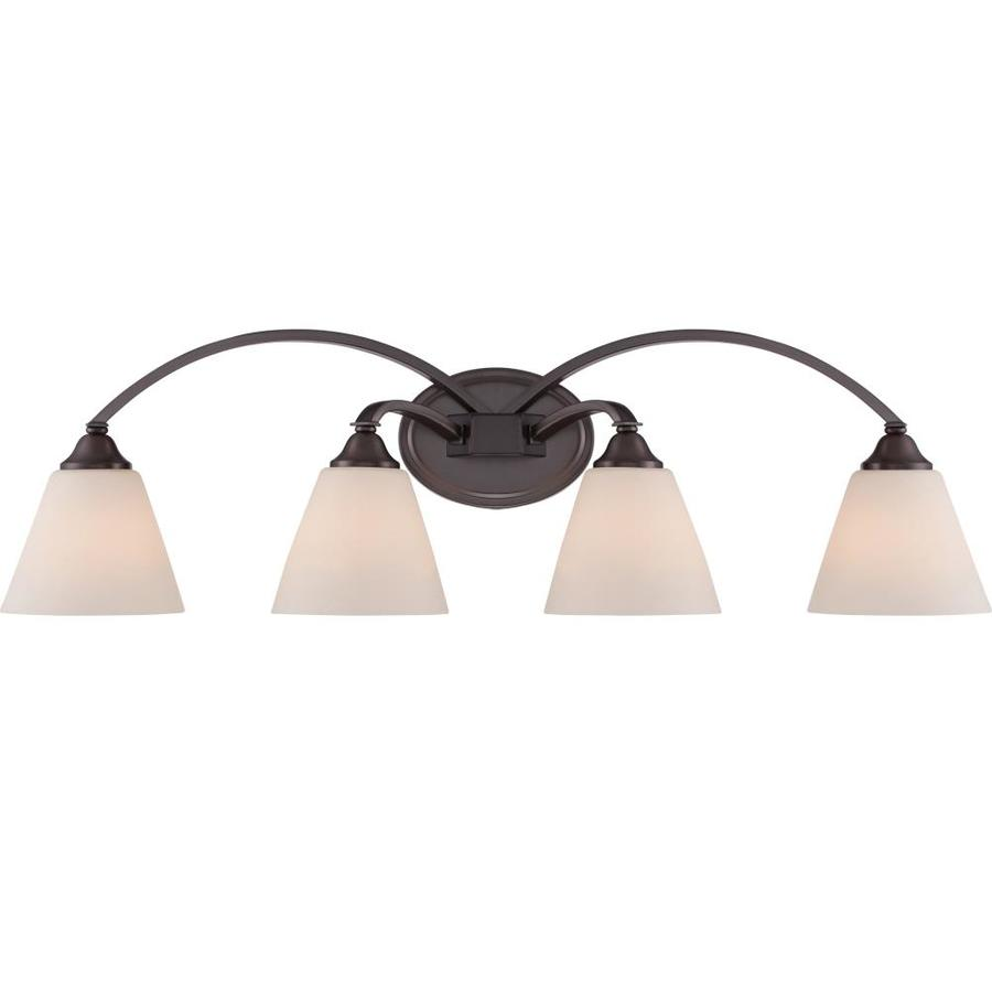 Namun 4-Light 10-in Oil Rubbed Bronze Vanity Light
