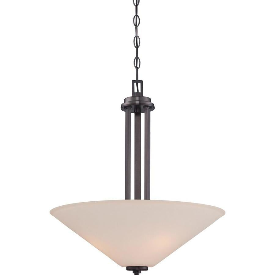 Sookie 20-in Oil Rubbed Bronze Single N/A Pendant