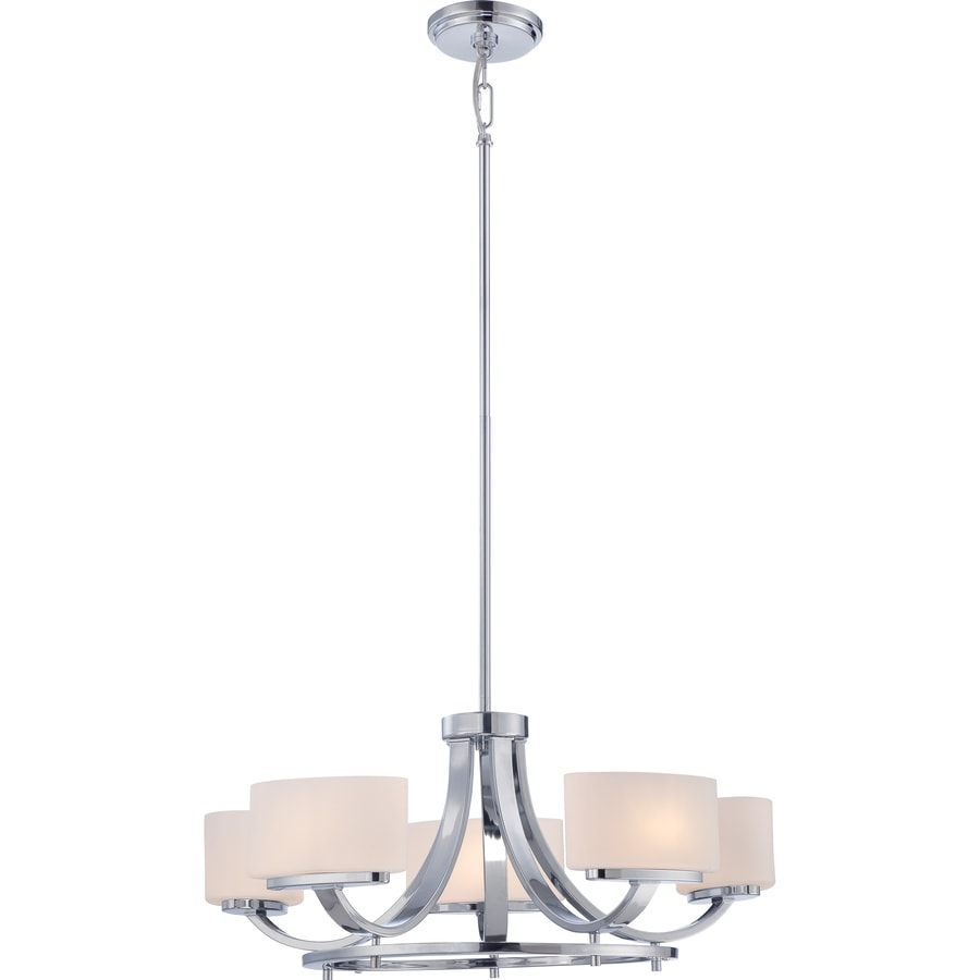Shop illumina direct madelyn 24 in light polished chrome halogen illumina direct madelyn 24 in light polished chrome halogen chandelier arubaitofo Image collections