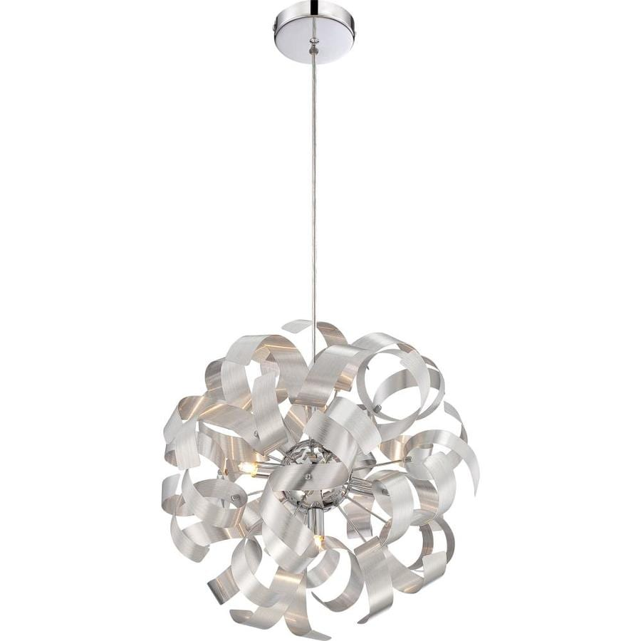 Ashley Harbour 17-in Millenia Industrial Multi-Light Orb Pendant
