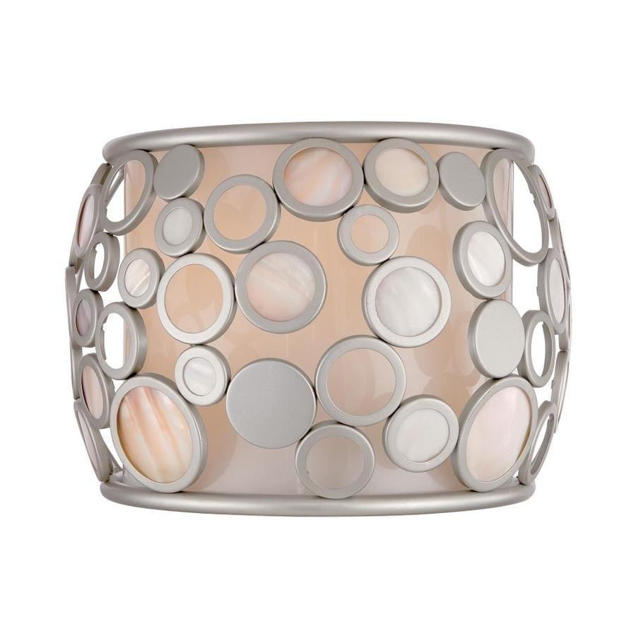 Quoizel Fairgate 1-Light 6.75-in Powder Coat Silver Vanity Light