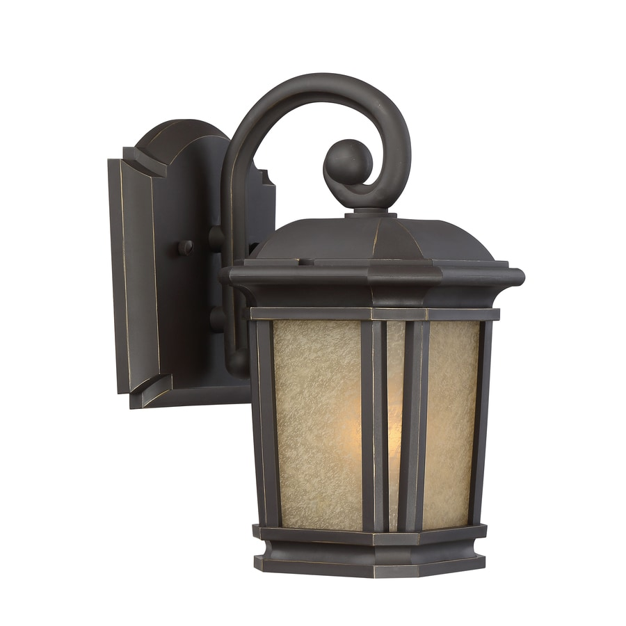 Shop quoizel corrigan 11 in h bronze outdoor wall light at lowes quoizel corrigan 11 in h bronze outdoor wall light amipublicfo Image collections