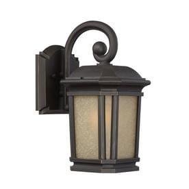 quoizel outdoor lighting vintage quoizel corrigan 1325in bronze outdoor wall light lighting at lowescom