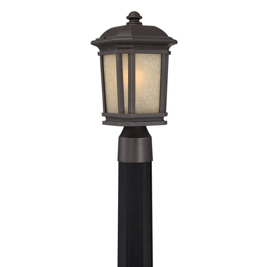 Quoizel Corrigan 14.25-in H Bronze Post Light