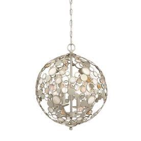 quoizel pendant lighting brushed nickel quoizel fairgate silver multilight coastal orb pendant shop lighting at lowescom