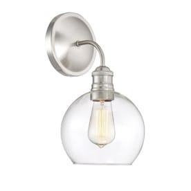 Quoizel Soho 1-Light Nickel Transitional Vanity Light