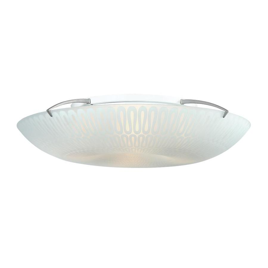 Quoizel Palladian 19.7-in W Silver Flush Mount Light