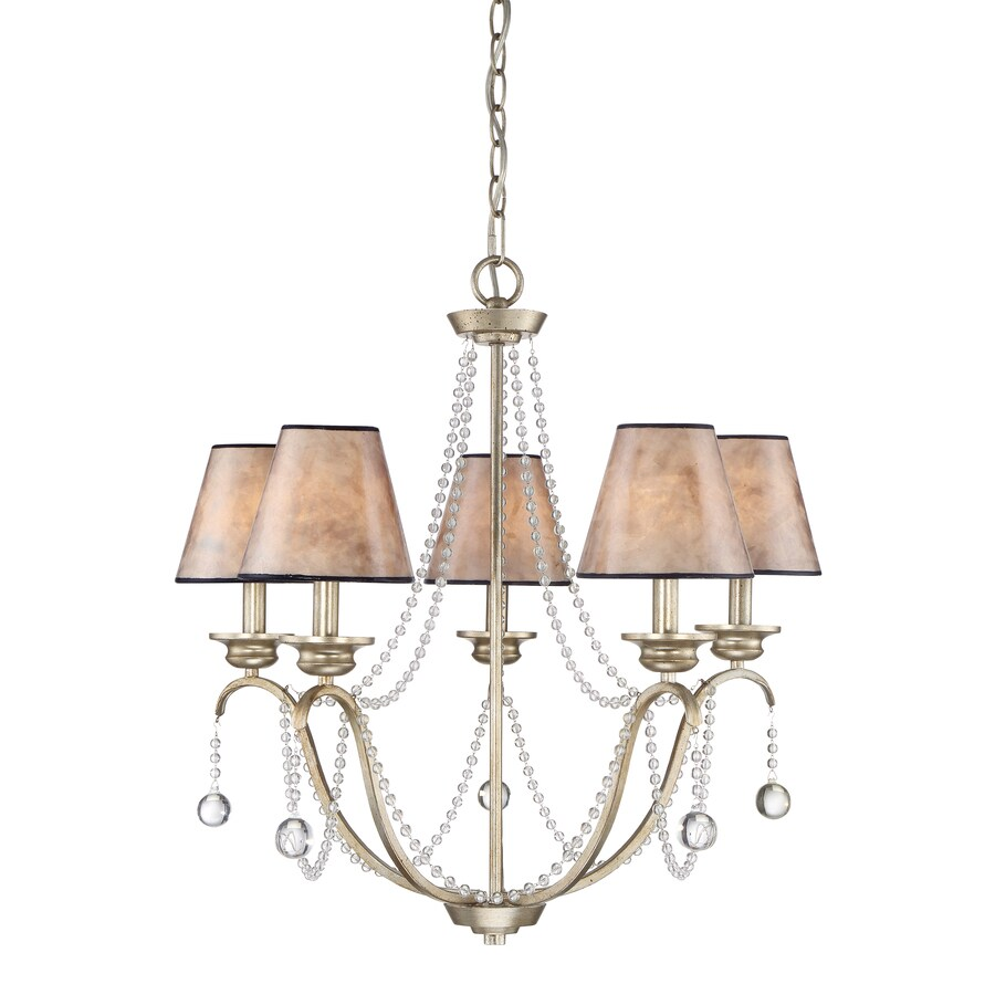 Shop Quoizel Jenna In Light Gold Country Cottage Tiered - Country cottage kitchen light fixtures