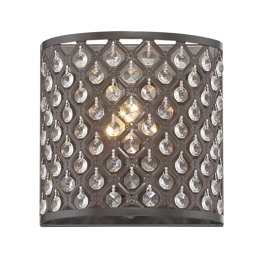Quoizel Juliana 1-Light 7.125-in Bronze Cage Vanity Light