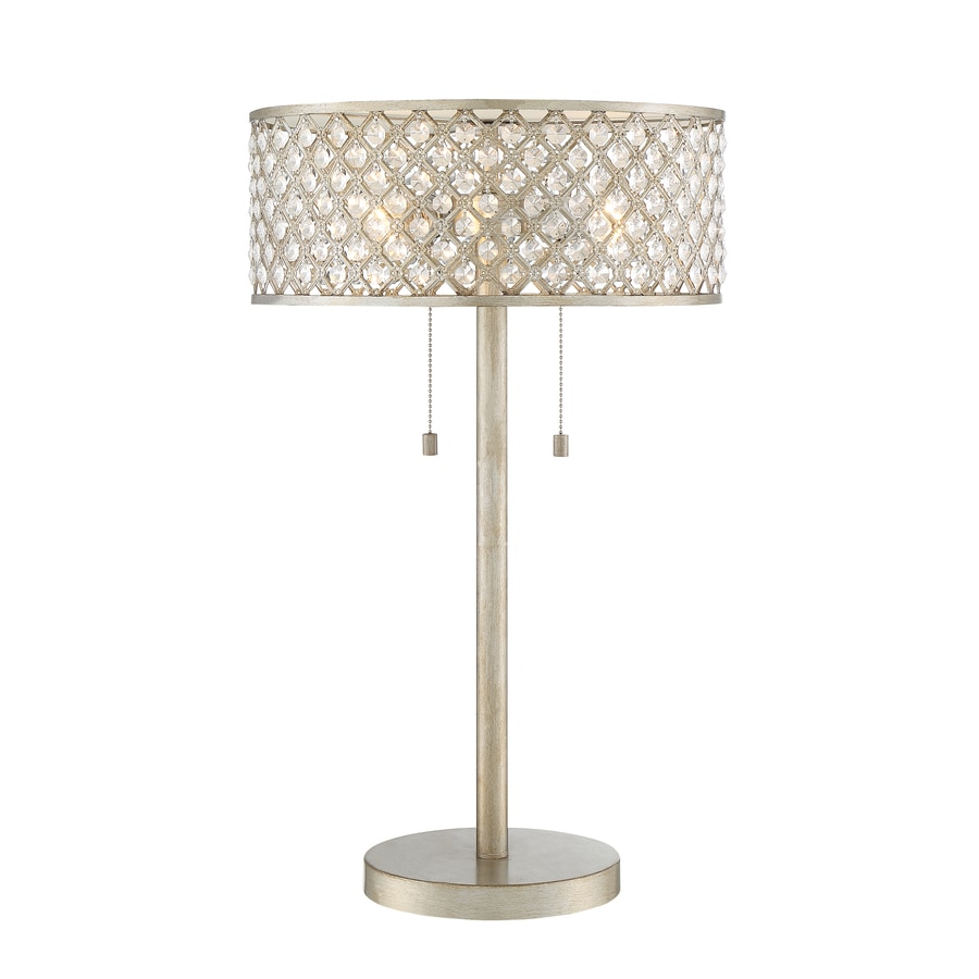 Shop table lamps at lowes quoizel juliana 24375 in gold table lamp with metal shade aloadofball Gallery