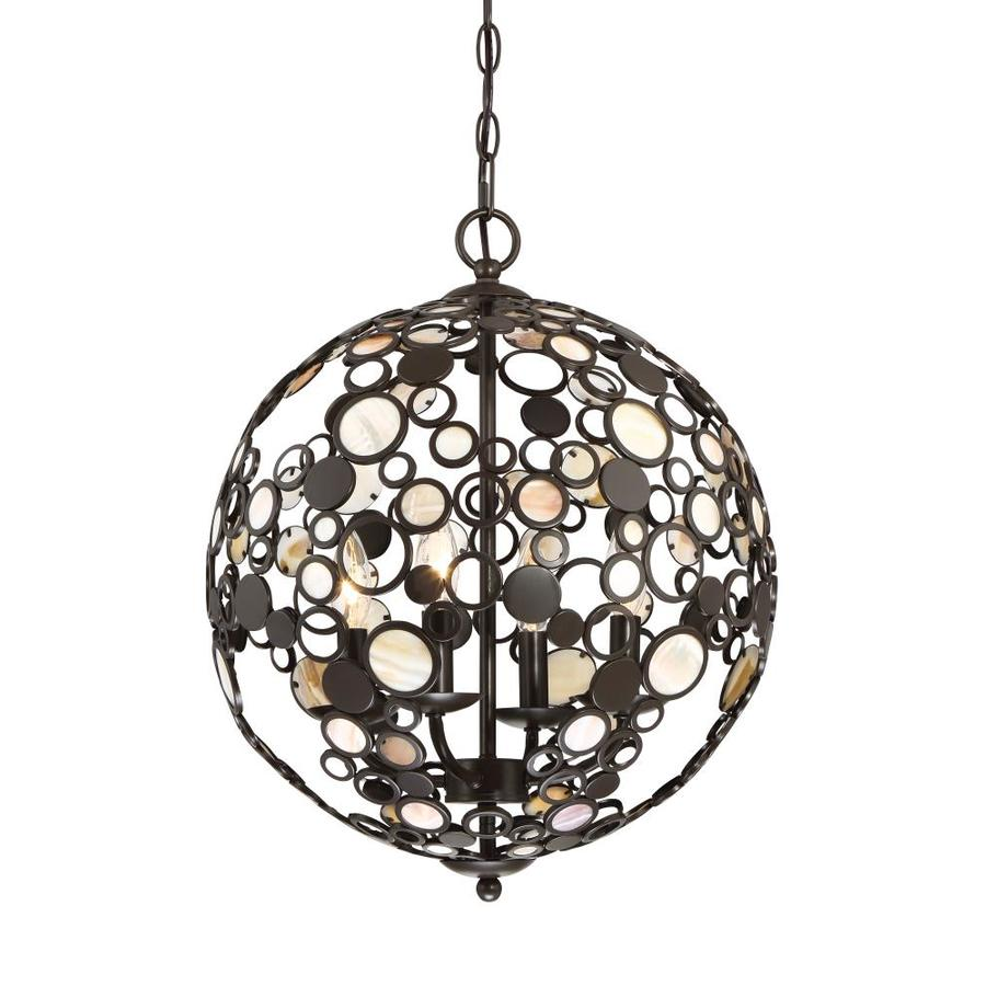 Quoizel Emery Small Palladian Bronze Industrial Pendant ... |Quoizel Pendant Lighting