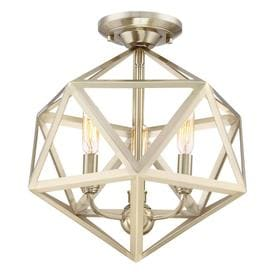 gold flush mount light entryway light quoizel liberty park 13125in gold no glass semiflush mount light flush lighting at lowescom