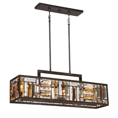 Crossing Bronze Kitchen Island Light Casual Transitional Pendant