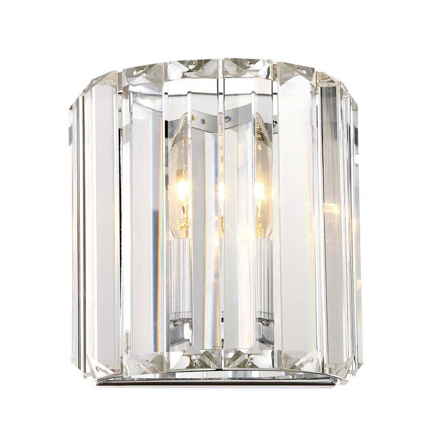 Quoizel Valentina 1-Light 7.13-in Polished Chrome Vanity Light
