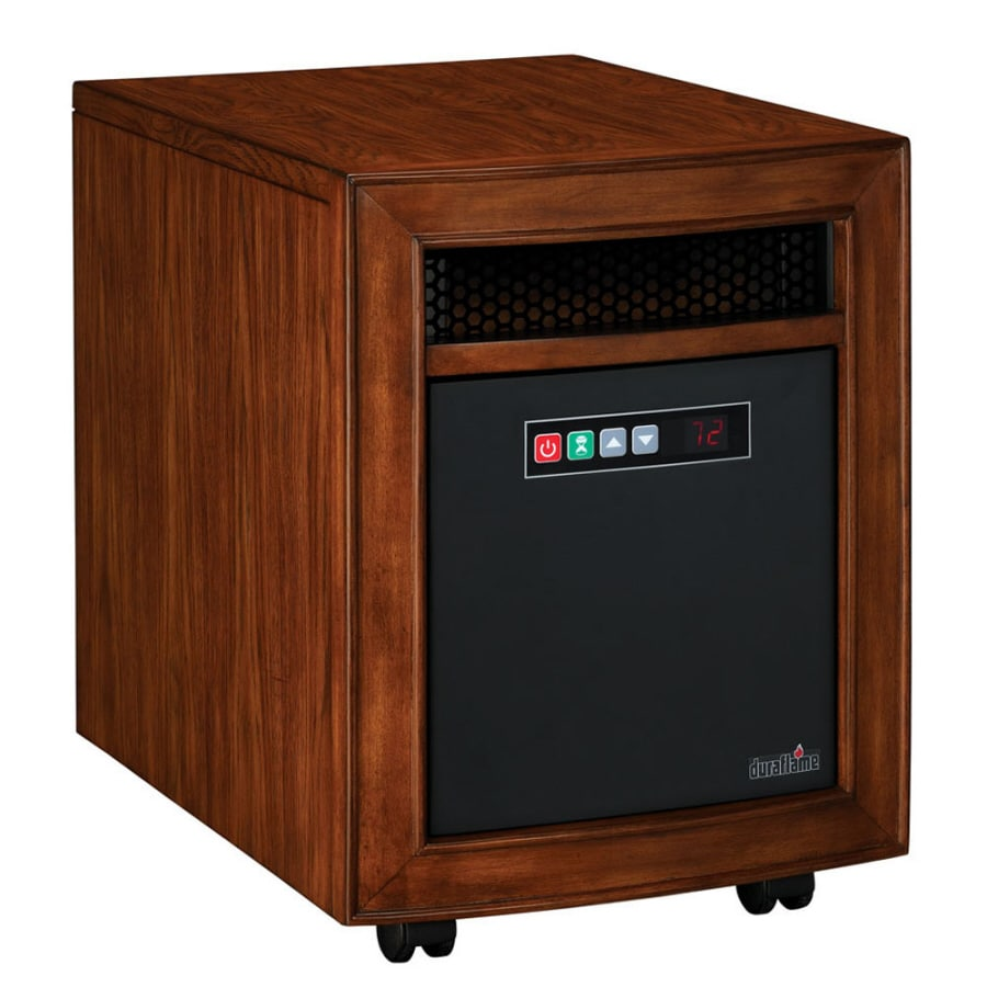 Duraflame Quartz Radiant Cabinet Electric Space Heater