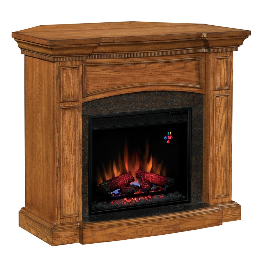 Chimney Free 44 Quot Premium Oak Corner Or Wall Mount Electric
