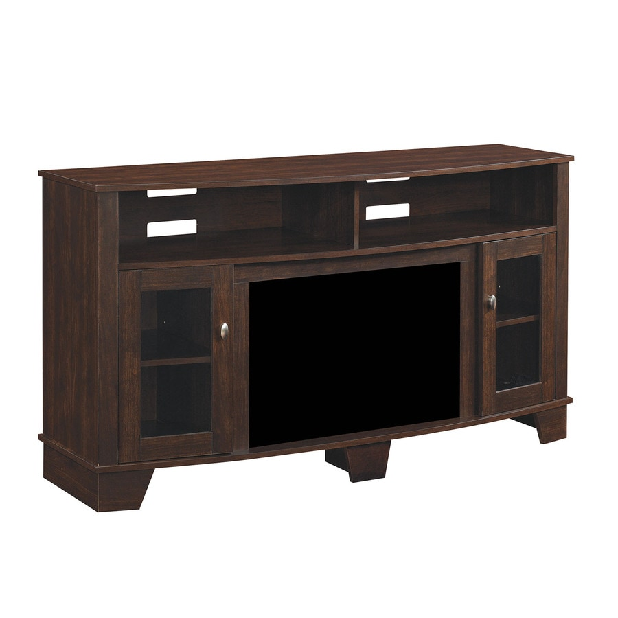Shop Classicflame Lasalle Midnight Cherry Fireplace Tv Stand At