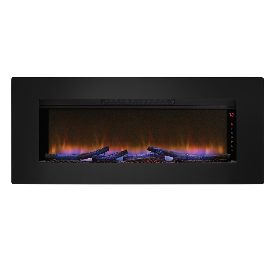 Clicflame 46 57 In Black Electric Fireplace Insert