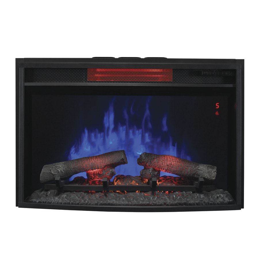 ClassicFlame 27-in Black Electric Fireplace Insert