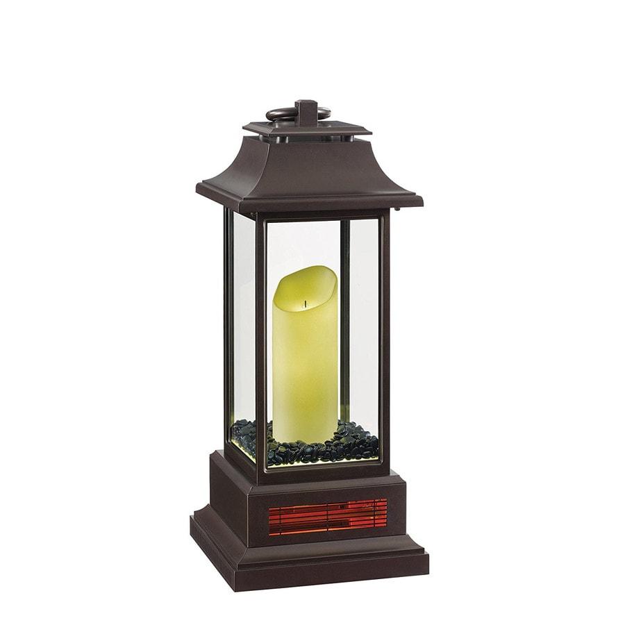 Shop duraflame 5200 btu infrared quartz compact personal for Small room quartz heater