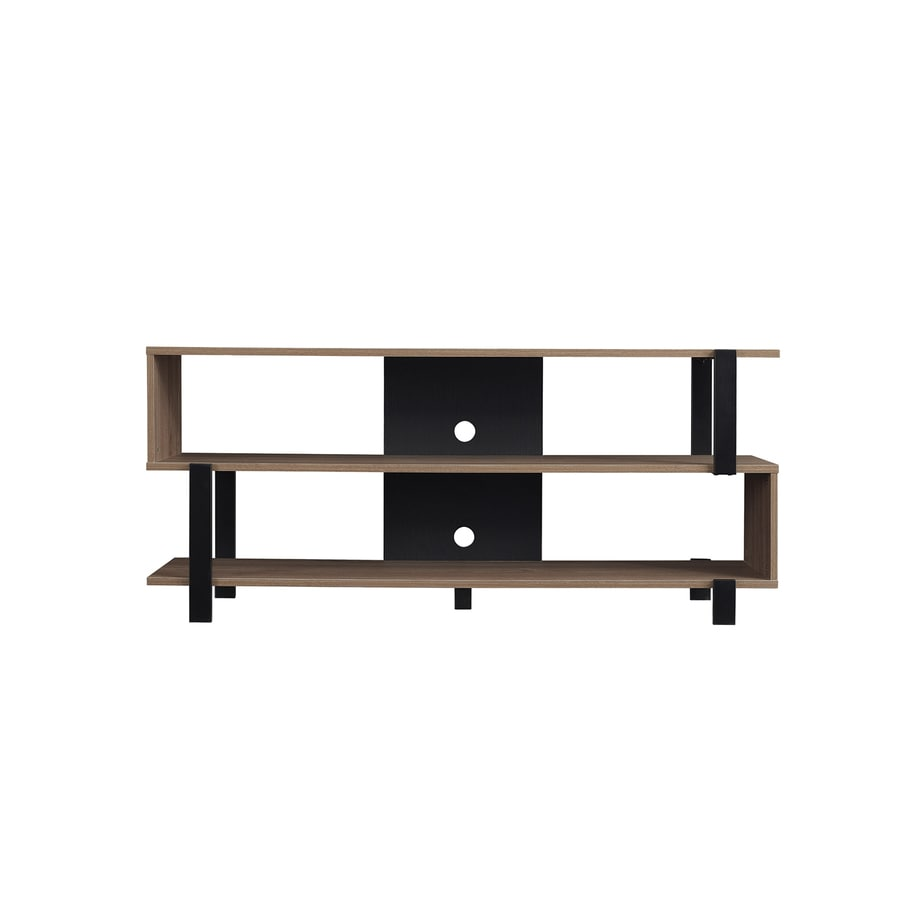 Bell'O Oak Harbor Oyster Walnut Universal TV Stand