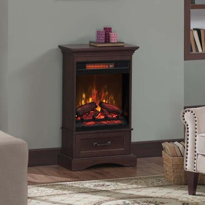 Astounding Duraflame 23 63 In W Brown Infrared Quartz Electric Download Free Architecture Designs Lukepmadebymaigaardcom