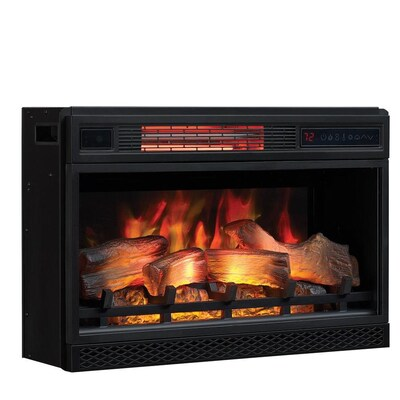 Classicflame 27 In Black Electric Fireplace Insert At Lowes Com