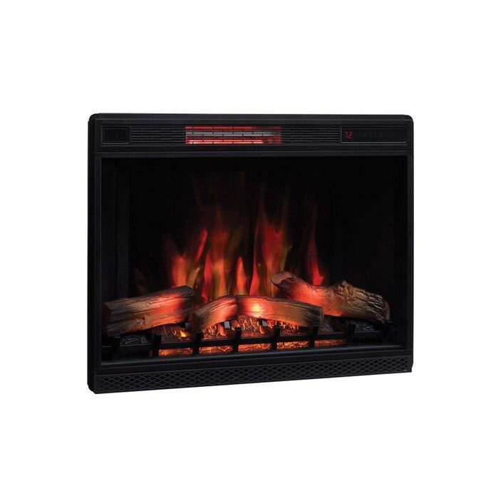 Classicflame 34 1 In Black Electric Fireplace Insert In The