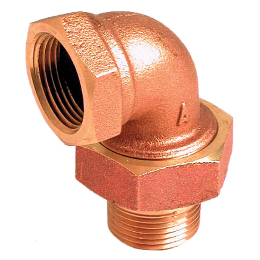AMERICAN VALVE 1-1/4-in x 1-1/4-in Threaded Street Elbow Fitting