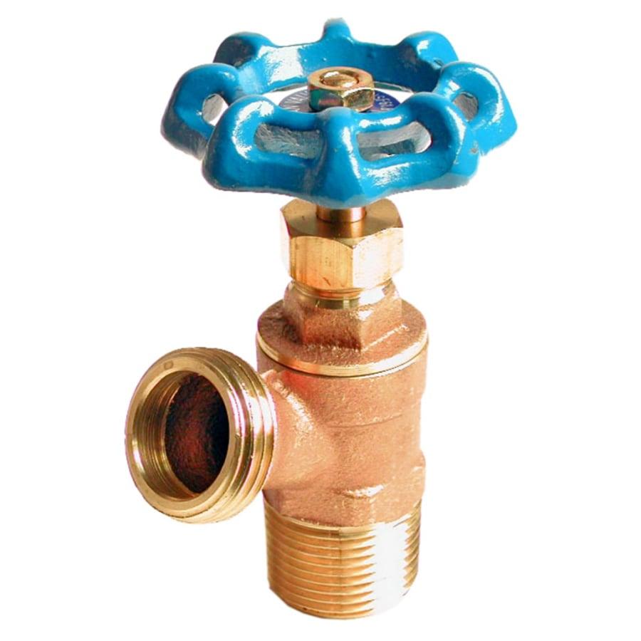 AMERICAN VALVE 3/4-in Male Brass Boiler Drain Valve