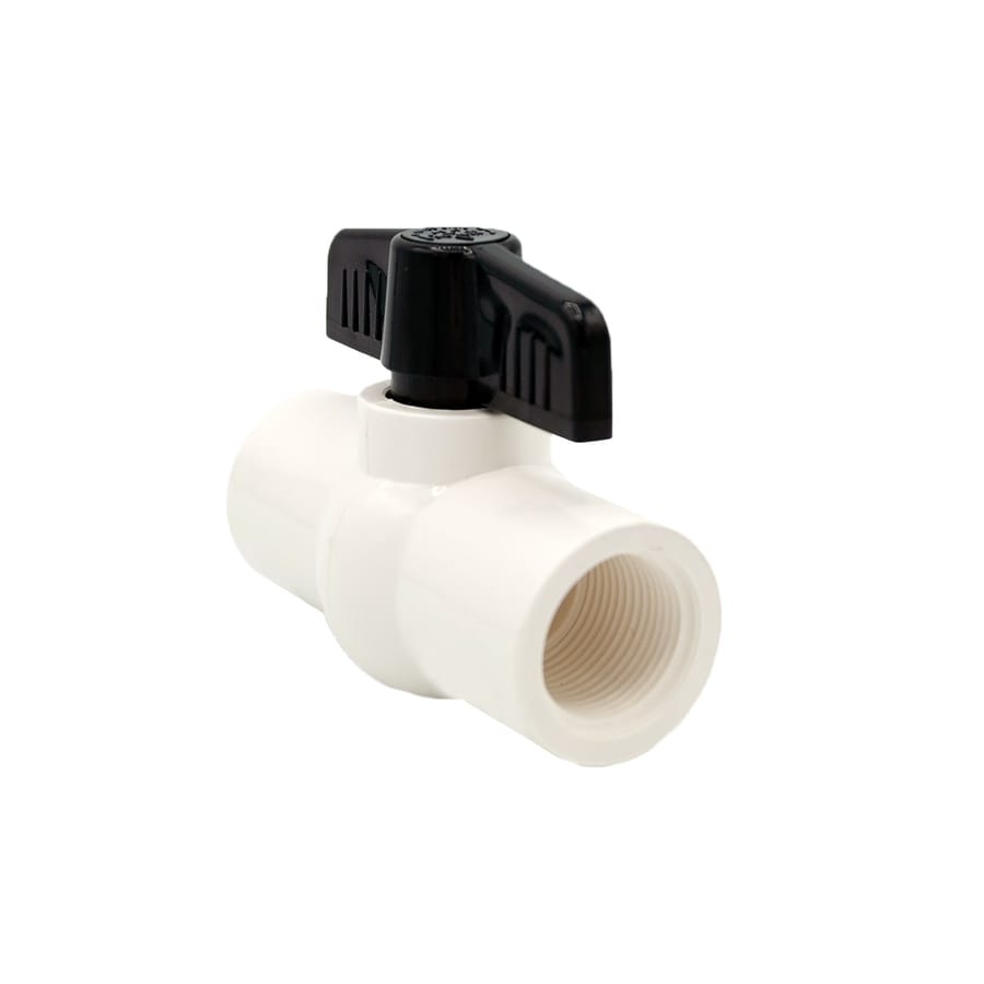 AMERICAN VALVE Molded-in-place PVC Sch 40 3/4-in Female Ball Valve