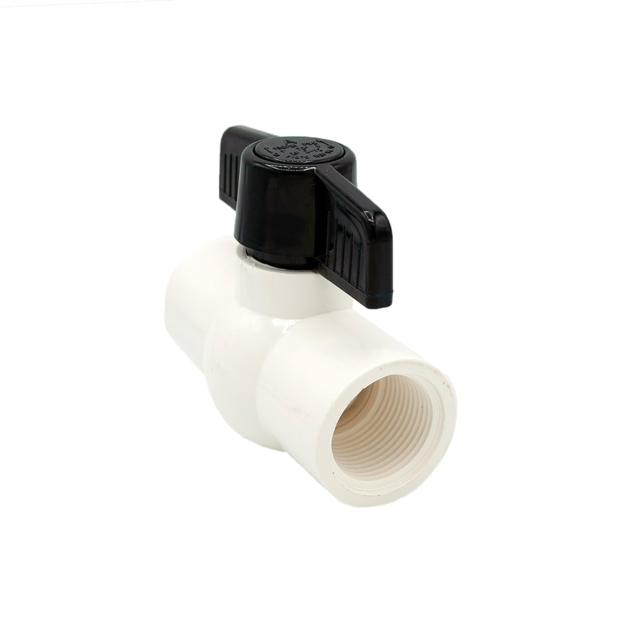 AMERICAN VALVE 1-in PVC Sch 40 Female In-Line Ball Valve