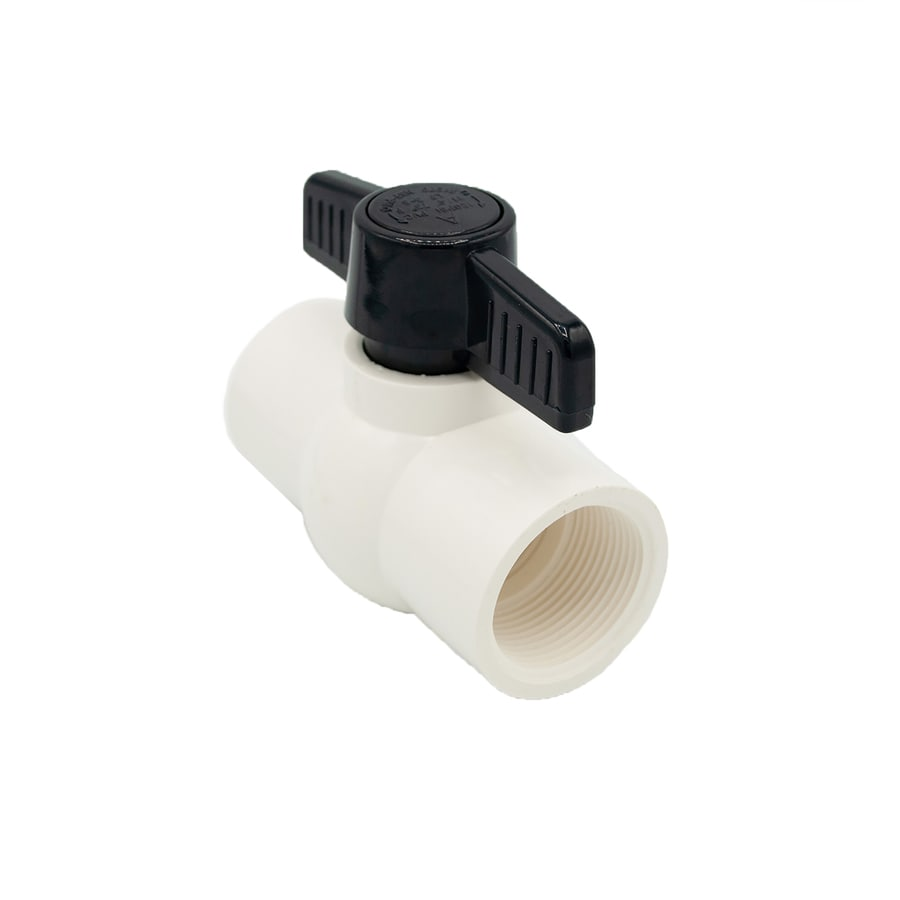 AMERICAN VALVE 1-1/4-in PVC Sch 40 Female In-Line Ball Valve