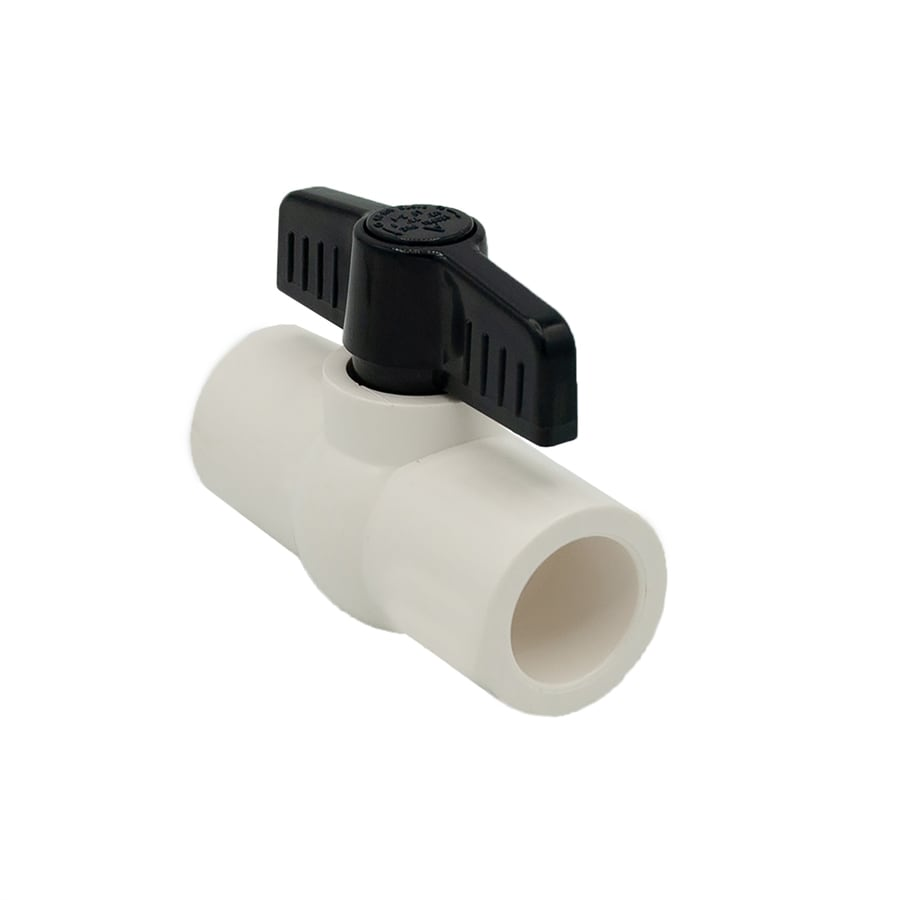 AMERICAN VALVE Pvc Sch 40 2-in Socket Ball Valve