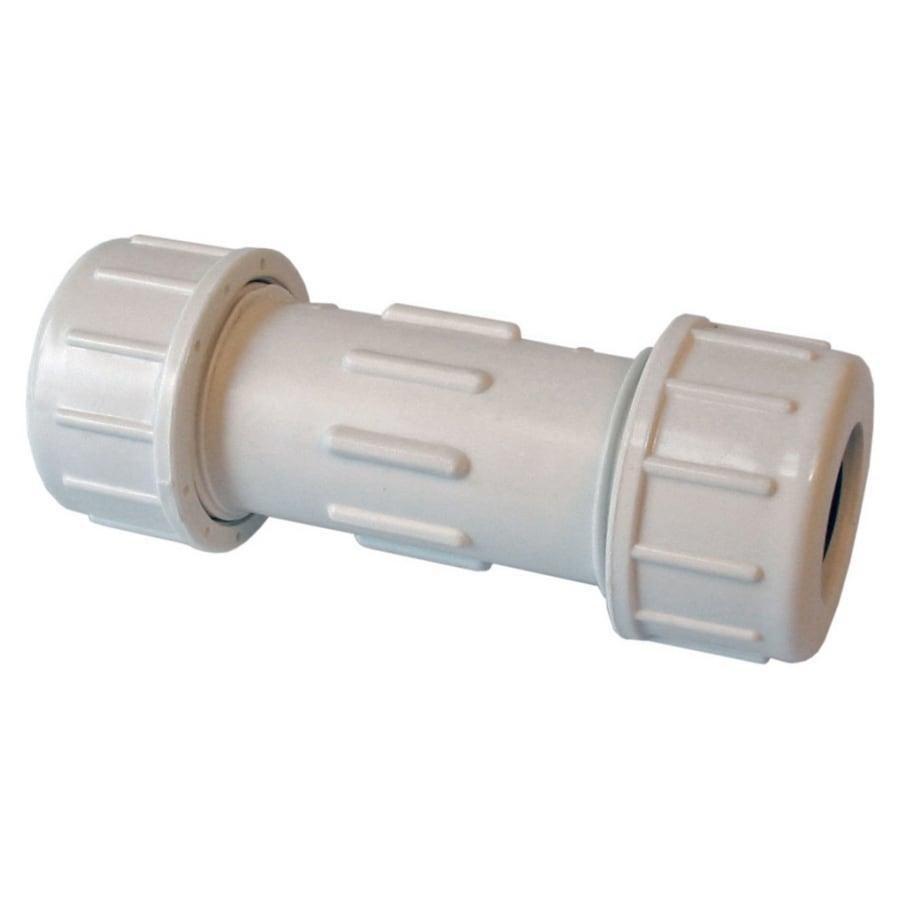 Shop american valve quot pvc compression coupling at