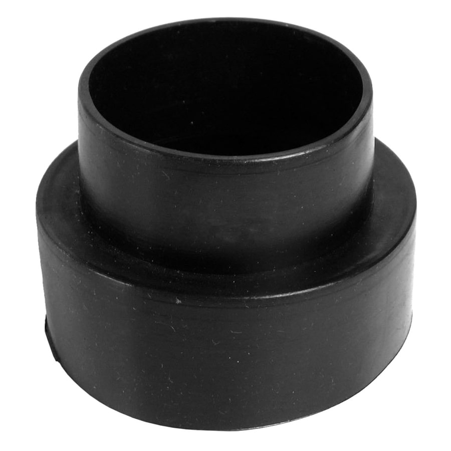 AMERICAN VALVE 4-in x 3-in Dia Flexible PVC Connector Trap Fittings