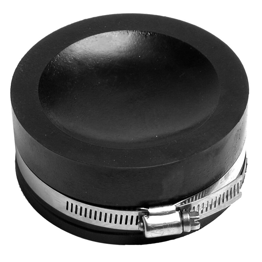 AMERICAN VALVE 4-in Dia Flexible PVC Cap Fittings