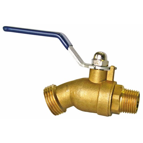 Generic 3//4 SOLID BRASS GARDEN HOSE DOUBLE TWIN TAP ADAPTOR DUAL HOSE PIPE CONNECTORS