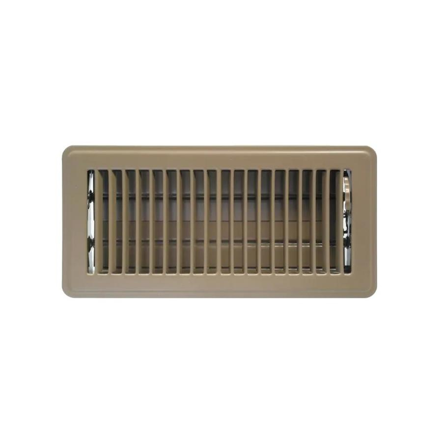 Accord Ventilation Brown Floor Register (Duct Opening: 4 ...