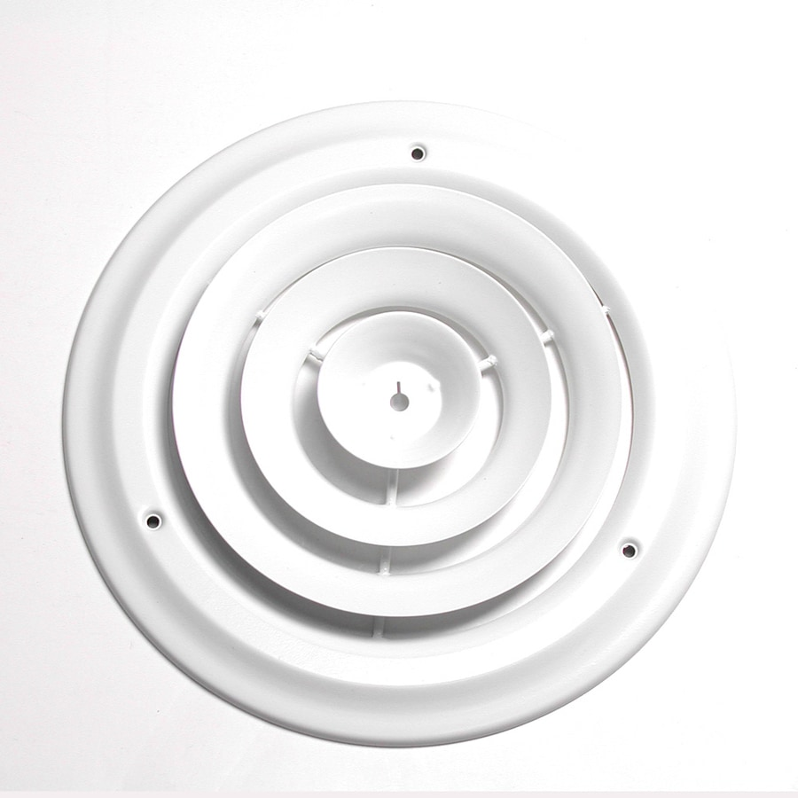 Accord 14-in Diameter White Steel Ceiling Diffuser