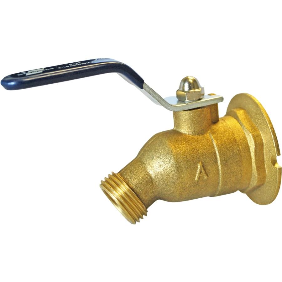 AMERICAN VALVE 1/2-in FNPT Brass Quarter Turn Sillcock