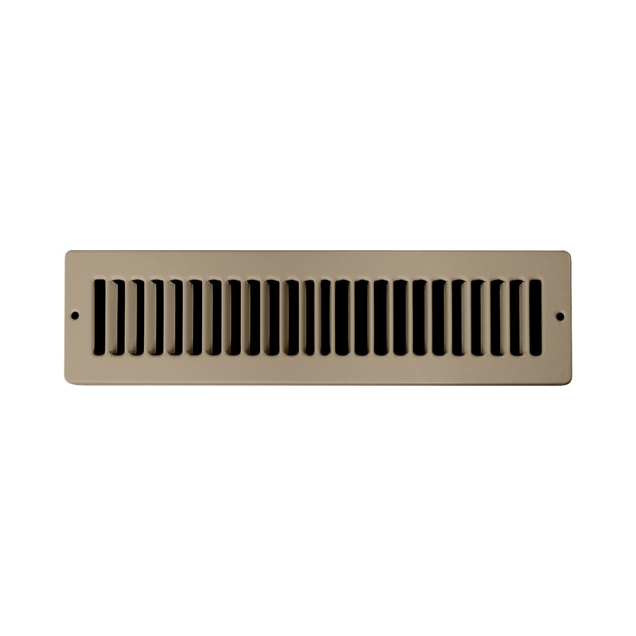 Accord 4-in x 12-in Brown Steel Toe Space Grille