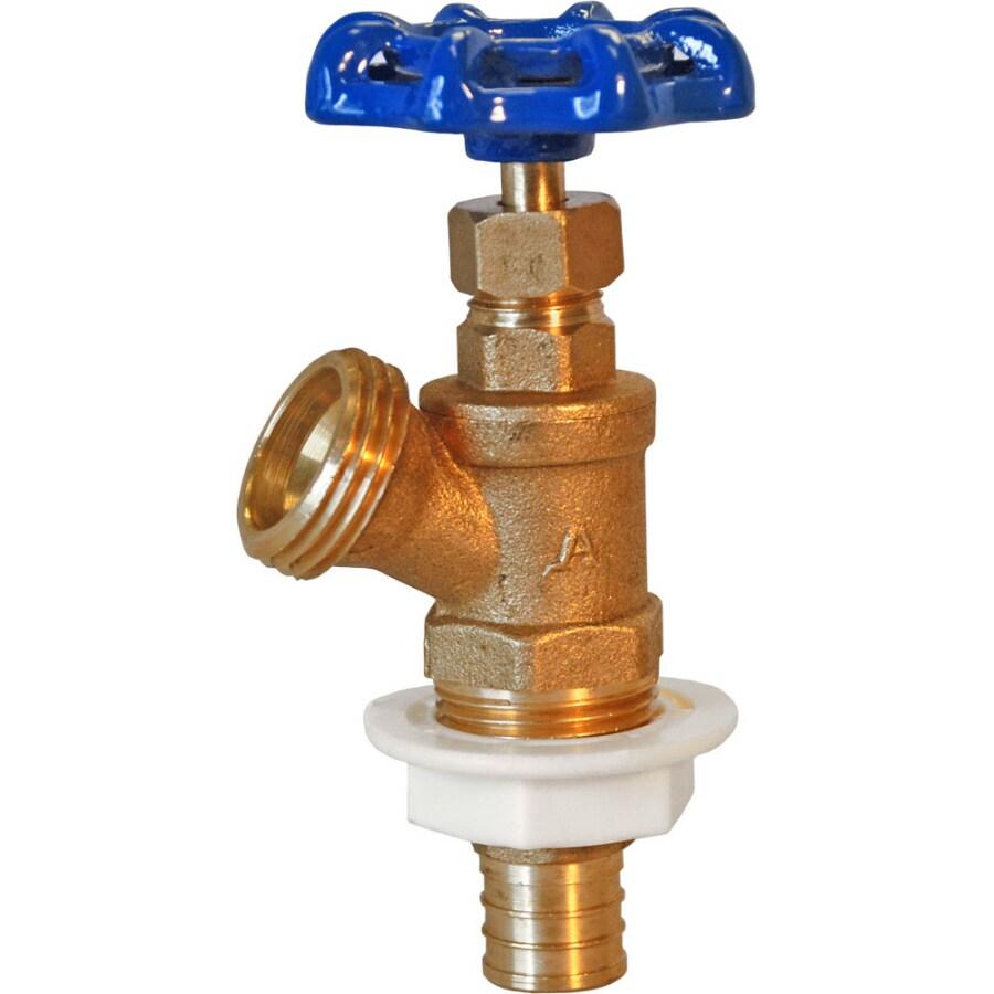AMERICAN VALVE 3/4-in PEX Brass Boiler Drain Valve