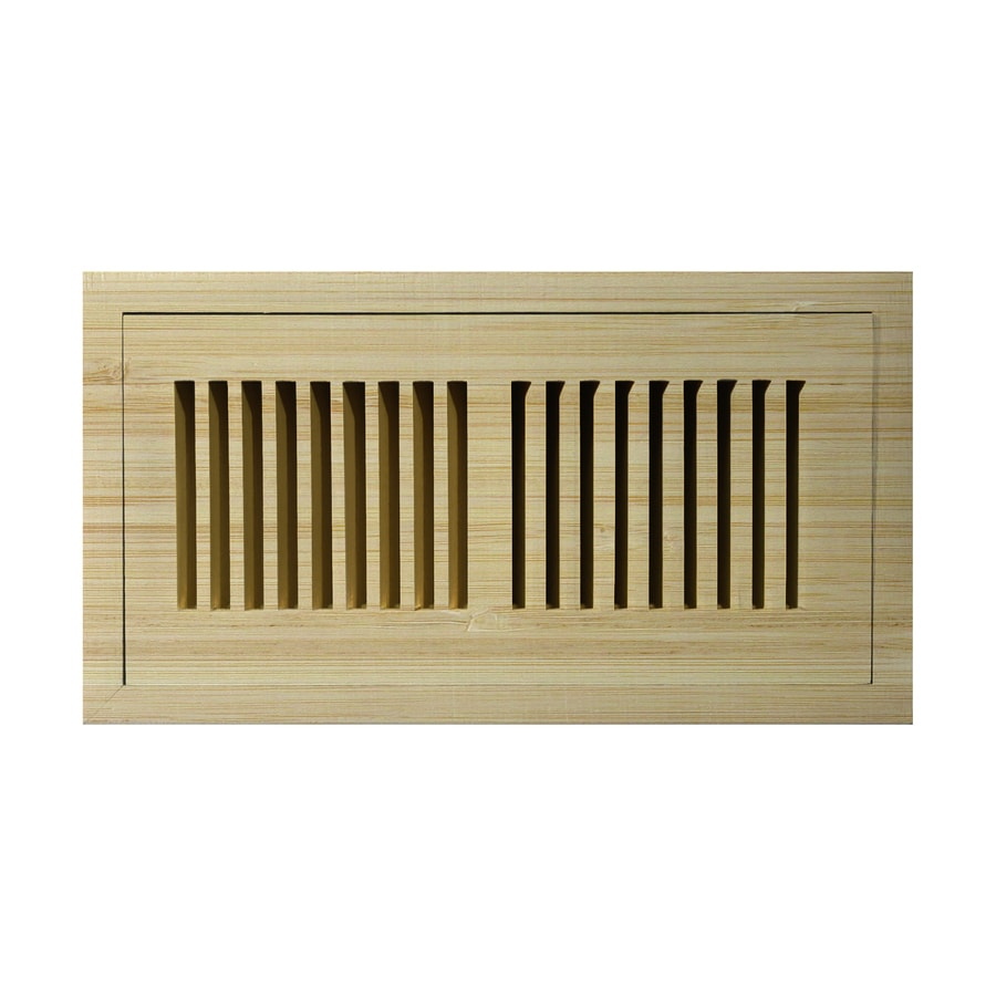 Accord 2-in x 10-in Unfinished Wood Floor Register