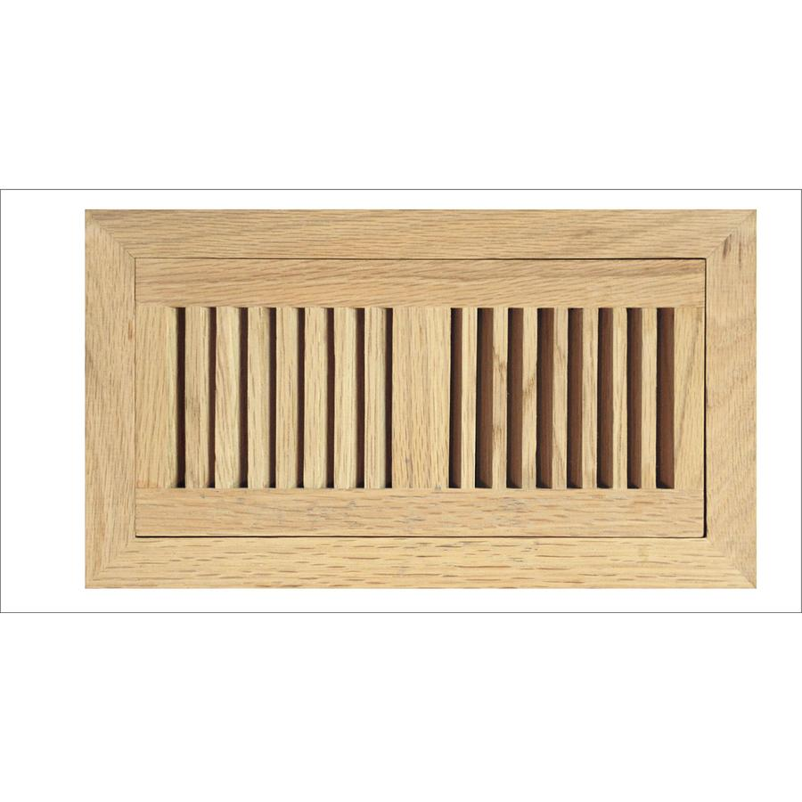 Accord Select Oak Unfinished Oak Floor Register Duct