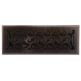 Accord Select Charleston Dark Oil Rubbed Bronze Steel Floor Register Duct Opening 4