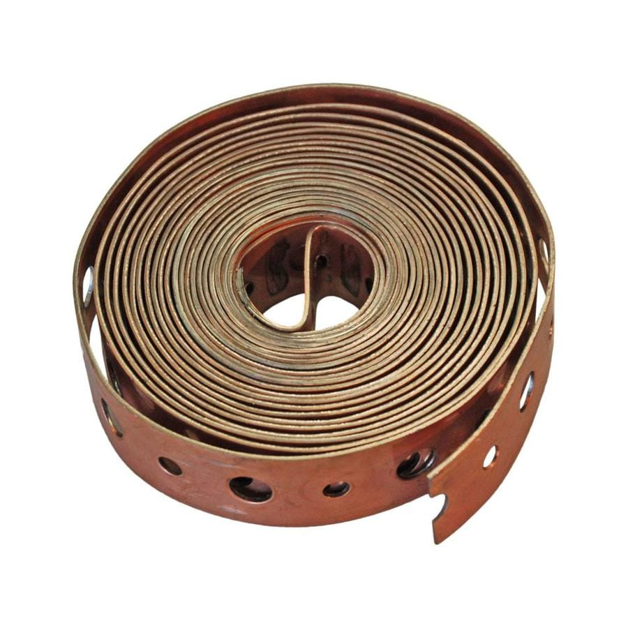 AMERICAN VALVE 1/2-in to 4 dia Copper Plated Steel Tab Tape