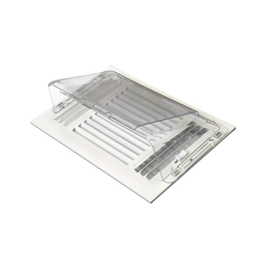 Shop Accord 5.75-in x 10.5-in Adjustable Magnetic Mount Plastic Ceiling Air Deflector at Lowes.com