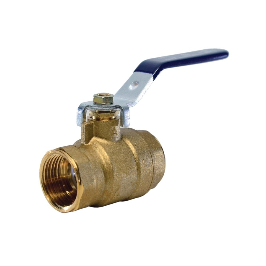 AMERICAN VALVE Brass 1-1/4-in Female Ball Valve